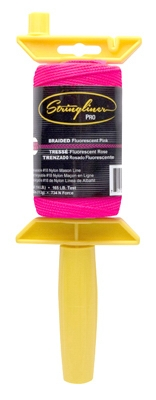 Construction Line, Fluorescent Pink Nylon, 250-Ft. Reel