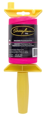 Construction Line, Fluorescent Pink Nylon, 500-Ft. Reel