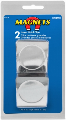 Large metal magnetic clips, 2