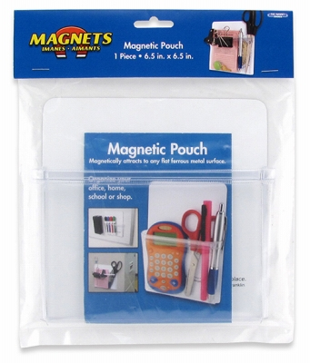 Magnetic Pouch, 6.5 X 6.5-In.