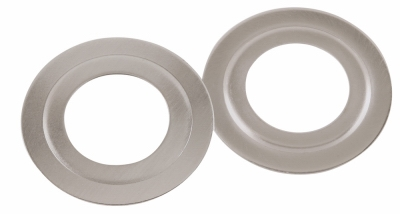 Bore Adapter Plate, Satin Nickel