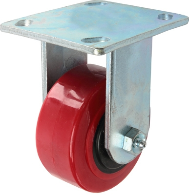 Poly Rigid Caster, 4-In.