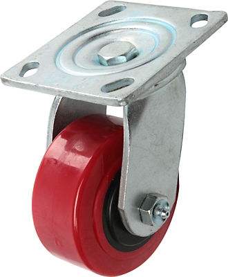 Poly Swivel Caster, 4-In.