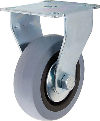 TPR Rigid Caster, 2-In.