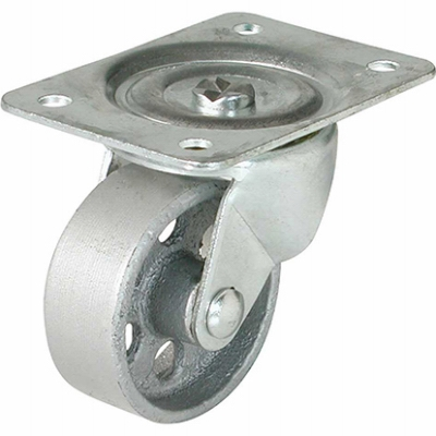 Swivel Plate Caster, 4-In.