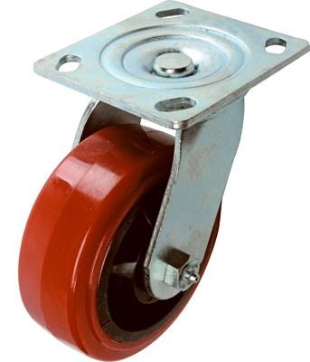 Poly Swivel Caster, 5-In.