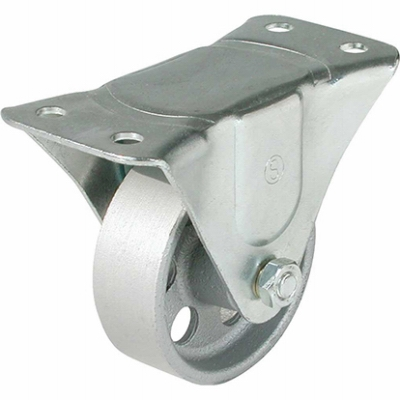 Rigid Plate Caster, 3-In.