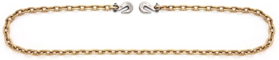 Binder Chain, Clevis Hook, Pail, .375-In. x 20-Ft.