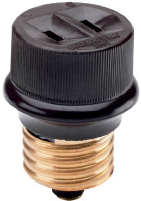 660-Watt Brown Lampholder Adapter