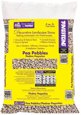 Decorative Landscape Pea Pebbles, 5-Cu. Ft.