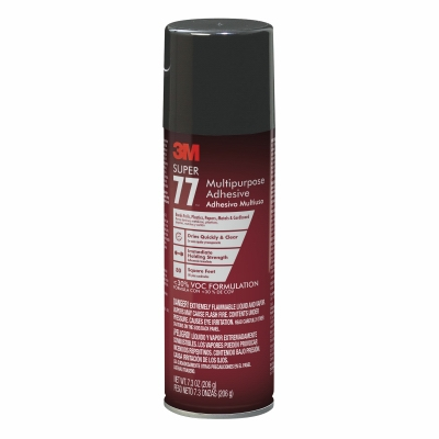 Supper 77 Spray Adhesive, Multi-Purpose, 7.3-oz.