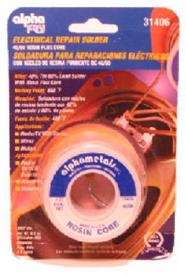 Leaded Electrical Solder, .062-In., 1-oz.