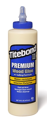 Premium Wood Glue, 16-oz.