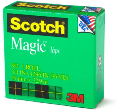 1/2-Inch x 36-Yard Magic Transparent Tape