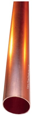 Hard Copper Tube, Type M, 1-In. x 10-Ft.
