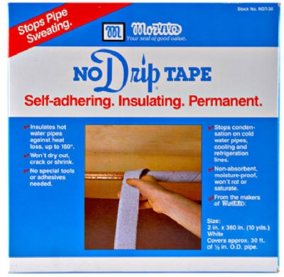 No-Drip Pipe Tape, 30-Ft.