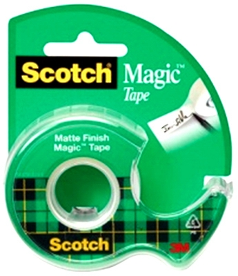 Magic Transparent Tape, 3/4 x 300-In.