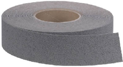 3M Safety Anti-Slip Tread, Medium Duty, Gray, 2-In. x 60-Ft. Roll