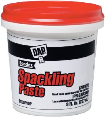 Spackling Putty, Pre-Mixed, 1/2-Pt.