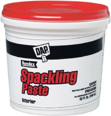 Spackling Putty, Pre-Mixed, 1-Qt.
