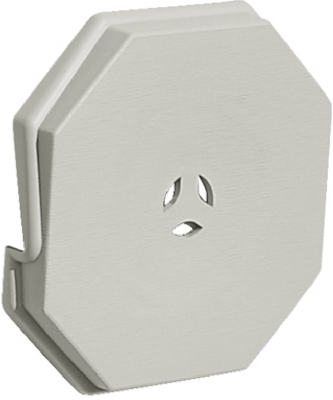 Surface Block, Silver Gray