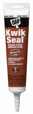 Kwik Seal Tub/Tile Caulk, 5.5-oz.