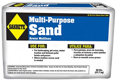 Multi-Purpose Sand, 60-Lbs.