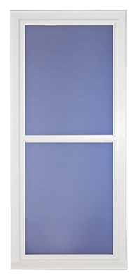 Easy Vent Selection Storm Door, Full-View Glass, White, 32 x 81-In.
