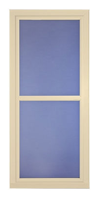 Easy Vent Selection Storm Door, Full-View Glass, Almond, 36 x 81-In.