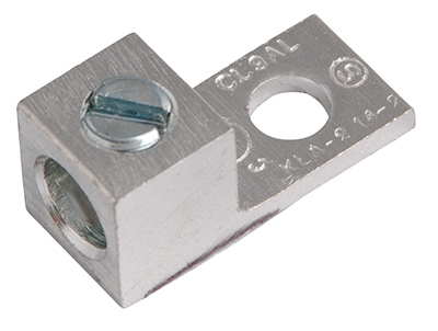 Aluminum Mechanical Lugs, 00-14 AWG, 2-Pk.