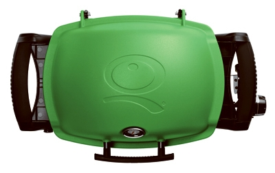 Q-1200 Portable Gas Grill, 8500 BTU, Green
