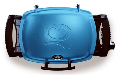 Q-1200 Portable Gas Grill, 8500 BTU, Blue