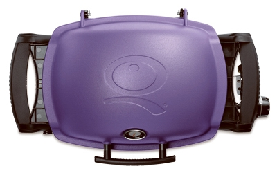 Q-1200 Portable Gas Grill, 8500 BTU, Purple