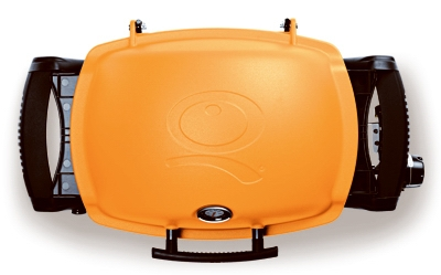 Q-1200 Portable Gas Grill, 8500 BTU, Orange