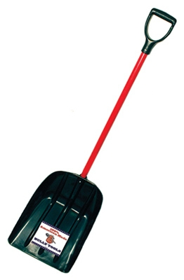 Snow / Mulch Scoop, Fiberglass Handle