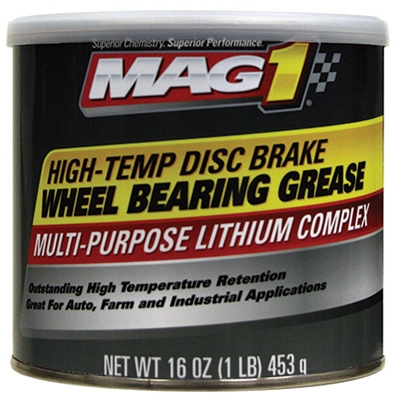 Disc Brake Wheel Bearing Grease, High-Temp Formula, 1-Lb.