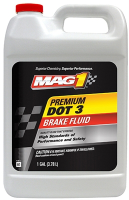 Dot 3 Premium Brake Fluid, 1-Gal.