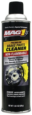 Premium Chlorinated Brake Parts Cleaner, 19-oz.
