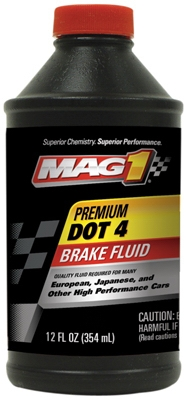 Dot 4 Premium Brake Fluid, 12-oz.