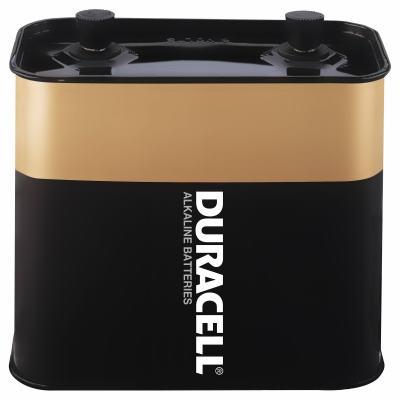 Duracell 6V Alkaline Screw Top Lantern Battery