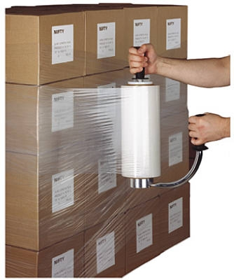 Packing Stretch Film, 18-In. x 1500-Ft. Roll