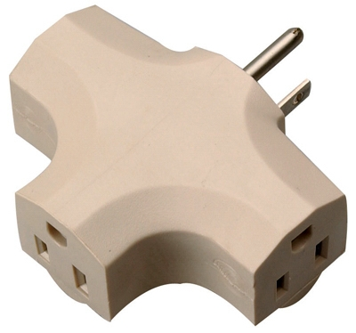 3-Outlet Indoor Power Adapter
