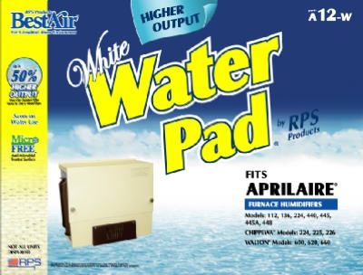 Aprilaire Higher-Output Furnace Humidifier Water Pad