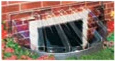 Bubble Window Well Cover, Elongated, 43 x 14 x 12-In.