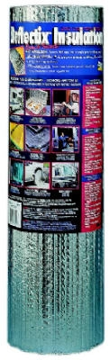 Reflective Insulation, Double Bubble Foil, 24-In. x 10-Ft.