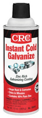 Cold Galvanizing Coating, Matte Gray, 13-oz.