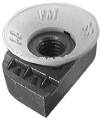 5-Pack 1/4-Inch 20 Cone Nuts