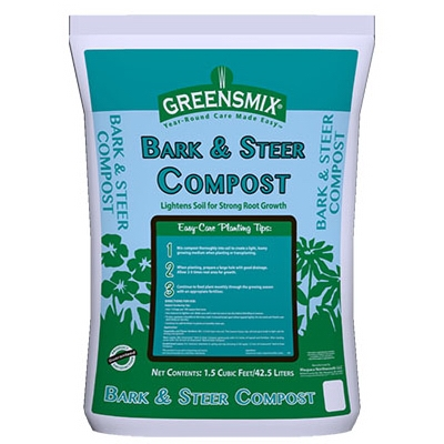 1.5 Cu. Ft. Bark and Steer Compost