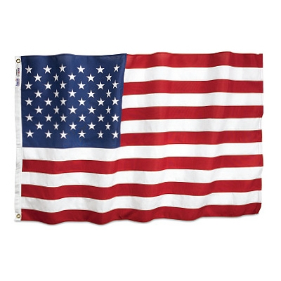 Heavy-Duty U.S. Flag, 3 x 5-Ft.