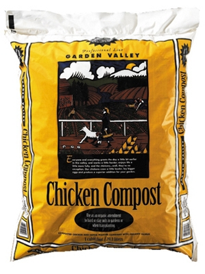 Garden Valley 1-Cu. Ft. Chicken Compost